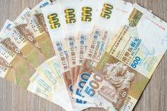 Hong Kong waluty banknoty, HK dolary dla biznesu zdjęcia stock