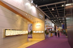 Hong Kong Watch & Clock Fair 2015 Royalty Free Stock Photography