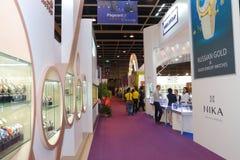 Hong Kong Watch & Clock Fair 2015 Royalty Free Stock Images