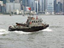 Hong Kong water police Stock Image