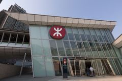 Hong Kong West Kowloon Station fotografia stock