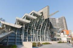 Hong Kong West Kowloon Station immagini stock libere da diritti