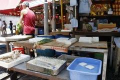 Hong Kong Wet marknad Arkivbilder