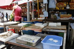 Hong Kong Wet-Markt Stockbilder