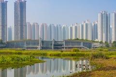 Hong Kong Wetlands Park arkivfoton