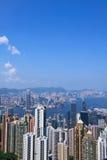 hong kong widok Obraz Royalty Free