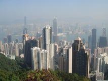 hong kong widok Obrazy Royalty Free