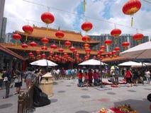 Hong kong wong tai sin temple Royalty Free Stock Image