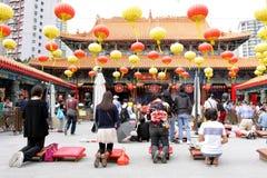 Hong Kong : Wong Tai Sin Temple Stock Image
