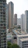 Hong Kong Wysoki budynek Obraz Royalty Free