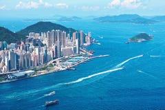 Hong Kong wyspa przy dniem Zdjęcie Stock
