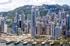 Hong Kong's Central District, China Royalty Free Stock Image