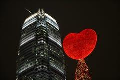 Hong Kong xmas arkivfoto