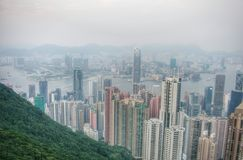 Hong Kong in year 2006 Royalty Free Stock Image
