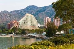 Hong Kong Złoty Plażowy ślad Zdjęcie Royalty Free