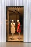 Hong Kong zakupy centrum handlowego wnętrze Obrazy Stock