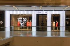 Hong Kong zakupy centrum handlowego wnętrze Obraz Stock