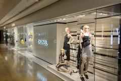 Hong Kong zakupy centrum handlowego wnętrze Zdjęcia Royalty Free