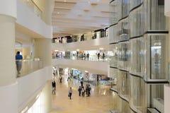 Hong Kong zakupy centrum handlowego wnętrze Fotografia Stock