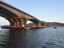Hong Kong-Zhuhai-Macao Bridge foto de archivo libre de regalías