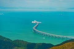 Hong Kong Zhuhai Macao Bridge imagen de archivo libre de regalías
