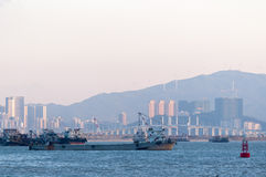 Hong Kong-Zhuhai-Macao Bridge site Stock Photos