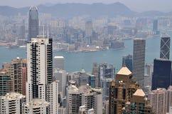 Hong- Kongansicht Lizenzfreie Stockfotos