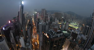 Hong- Kongantenne stock footage