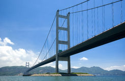 Hong- Kongbrücke Lizenzfreie Stockfotos