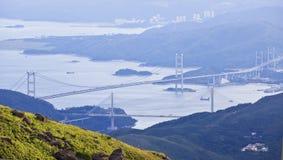 Hong- Kongbrücken Lizenzfreie Stockfotografie