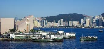 Hong- Kongfähre lizenzfreies stockbild