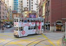 Hong- Kongförderwagen Stockfoto