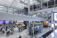 Hong- Kongflughafen Lizenzfreie Stockfotografie