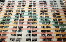 Hong- KongGasthaus Stockbild