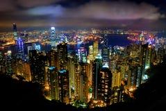 Hong- Konghöchstförderwagen Stockfotos