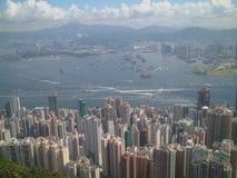 Hong- Konghafen Stockfoto