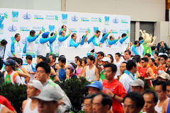Hong- Kongmarathon 2009 Stockfoto