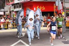 Hong- Kongmarathon 2009 Stockfotografie