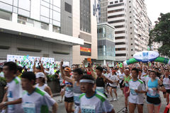 Hong- Kongmarathon 2010 Lizenzfreie Stockbilder