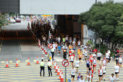 Hong- Kongmarathon 2010 Lizenzfreies Stockbild
