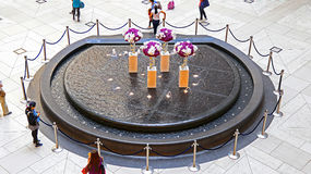 Hong- Kongmarksteinbrunnen Lizenzfreie Stockfotos