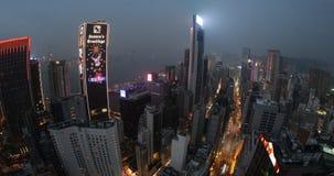 Hong- Kongpanorama stock video footage