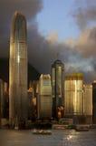 Hong- KongSkyline Stockfoto