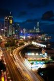 Hong- KongSkyline. Lizenzfreie Stockfotografie