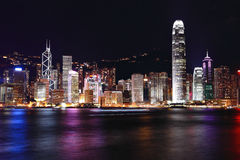 Hong- KongSkyline Lizenzfreies Stockfoto
