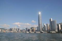 Hong- KongSkyline stockbild