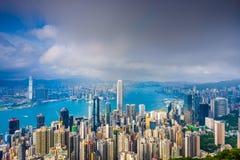 Hong- KongStadtbild Lizenzfreie Stockfotos