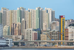 Hong- KongStadtbild lizenzfreie stockfotografie