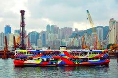 Hong- Kongsternfähre lizenzfreies stockbild