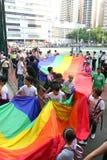 Hong- Kongstolz-Parade 2009 Stockfotos